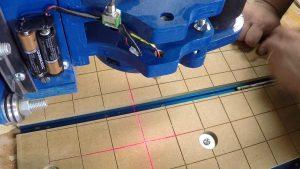 Adding a Crosshair Laser to my DIY CNC machine
